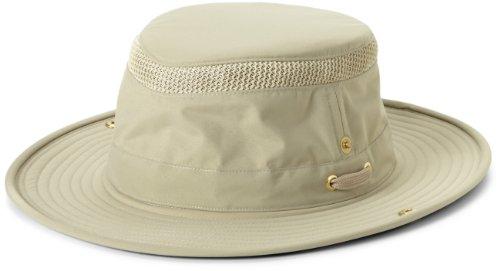Tilley Hut endurables ltm3Airflo Hat, Herren Damen, Khaki/Olive Outback-mesh-hut
