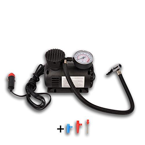 HSM Dunlop Druckluftkompressor 12 V Luftkompressor Druckluft Pumpe Luftpumpe Kompressor