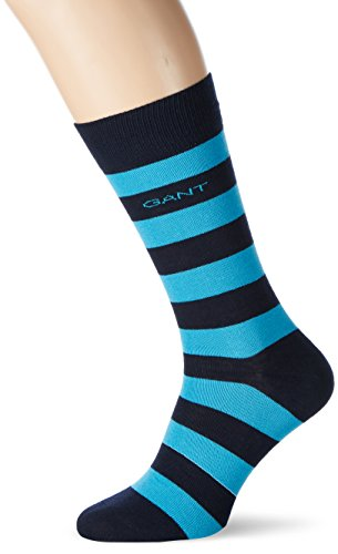 GANT Herren Barstripe Socks Blau (SAGE BLUE 417)