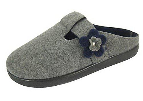 Coolers, Pantofole uomo Grey/Navy