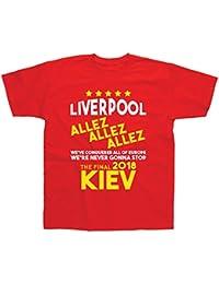 Postees Liverpool Allez Allez to Kiev 2018 T-Shirt