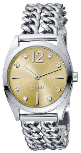 esprit-womens-quartz-watch-catena-champagne-es102632007-with-metal-strap