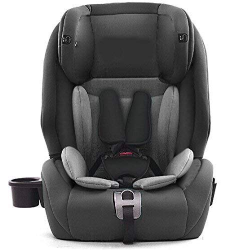 Star Ibaby City Fix HQ 668 SPS - Silla de coche Isofix grupo 1 2 3, Color Gris Black Grey