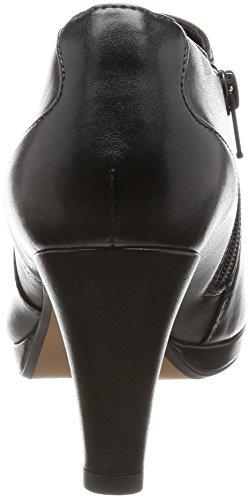 Clarks Stivaletti coro femminile vero in nero Black Leather
