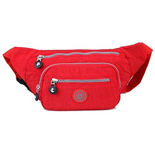 Estwell Gürteltasche Wasserdicht Bauchtasch Lauftasche Hüfttasche für Wandern Laufen Radfahren Camping Reise Klettern