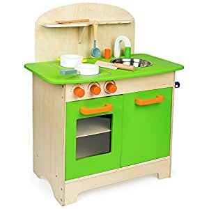 Kinderküche Spielküche aus Holz Küche Spielküche Kinderspielküche Holzküche