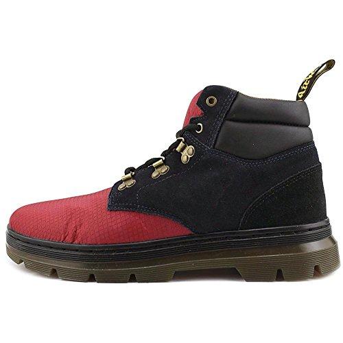 Dr. Martens Mens Rakim Chukka Boot Dark Red+Dress Blues+Black