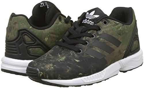 separation shoes fdd49 9b7ff adidas ZX Flux C, Scarpe da Fitness Unisex – Bambini