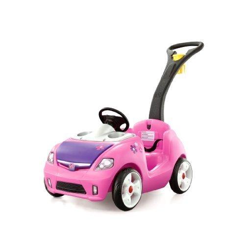 Clearance Toddler (Girls Riding Push Car Toy Toys Big Wheel Pink Walker Baby Toddler Kids)