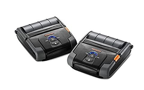 BIXOLON SPP-R400IKM/BEG 4INCH MOBILE RECEIPT PRINTER DT SERIAL USB BT IOS MSR3 - (Barcode POS & Warehousing > Barcode & Label