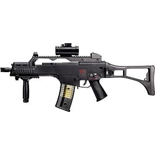 g8ds Set: HK Heckler & Koch G36 C AEG ELEKTRISCH Gewehr Softair Zielscheibe