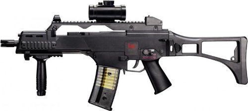 g8ds Set: HK Heckler & Koch G36 C AEG ELEKTRISCH Gewehr Softair Zielscheibe - Air-pistole Auto Semi