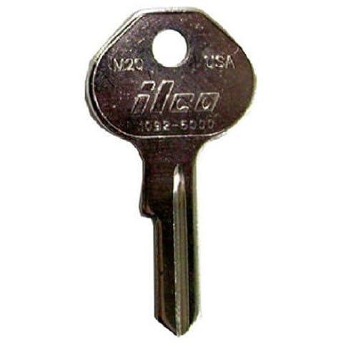 KABA ILCO M21-1092-7000 Key Blank For Master Padlock Key Blank Equivalent Of K7000 by Kaba Ilco