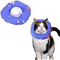 POPETPOP Katzen Schutzkragen Halskrause Anti-Biss Kragen Hundekragen Katzenkragen für Katze und Hund Größe S