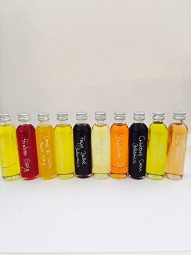 Geschenk-/Probierset Gourmet Öl & Essig - 10 x 40 ml -