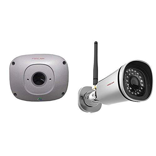 Foscam FAB99 wasserdichte Montageplatte Überwachungskameras / Mini-Bullet Kameras & FI9900P IP Kamera, 1080P FHD IP-Kamera, 2.0 Megapixel mit 20m Nachtsicht, Überwachungskamera mit Zoomfunktion