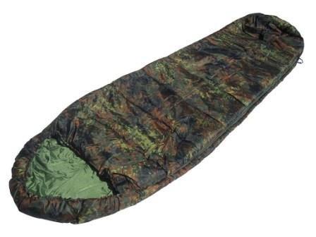 Mil-tec Flecktarn Camo - Saco de dormir de camuflaje
