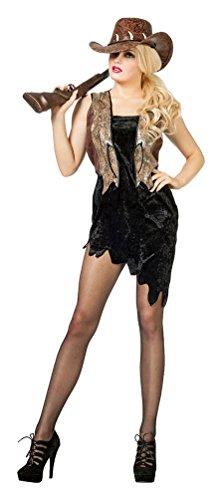 Abenteurer Frauen Kostüm - Karneval-Klamotten Krokodil-Jägerin Kostüm Damen Crocodile Lady Abenteurer-Kostüm Damenkostüm Größe 44