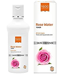 VLCC Natural Sciences Skin Defense Rose Water Toner, 100ml