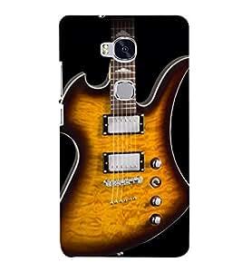 Lighting Guitar Strings 3D Hard Polycarbonate Designer Back Case Cover for Huawei Honor 5X :: Huawei Honor X5 :: Huawei GR5