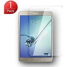 Protector de Pantalla Samsung Galaxy Tab S2 8.0 SM-T710, SLEO Vidrio Templado Tempered Glass Screen [Ultra-trasparente] Anti-reflejo Anti-arañazos de 9H Dureza Protector Pantalla para Samsung Galaxy Tab S2 8.0 SM-T710