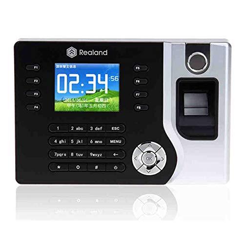 Usb Tcp-ip (HFeng TCP/IP / USB Biometrische Fingerprint Time Clock Recorder Teilnahme Mitarbeiter Elektronische Punch Reader Maschine Realand A-C071 2,8 Zoll)