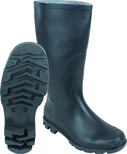 Anglerstiefel Farmer Stiefel aus weichem PVC Ohne Verschluss in Größe 37 bis 48, Größe:44