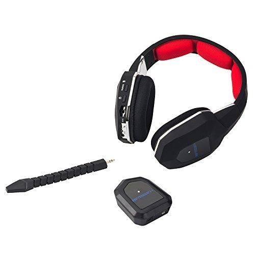 HAMSWAN® 2.4GHz Wireless Gaming Headset