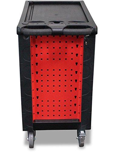 BD-Tools Werkstattwagen bestückt rot - 2