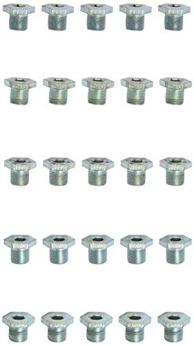 KS tools ölablassschraube innen6kant, 8 mm m14 x 1,25 x 13 mm-pack de 25 pièces, 430.2062
