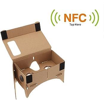 Andoer DIY Google Carton Réalité Virtuelle VR Mobile Lunettes 3D ...