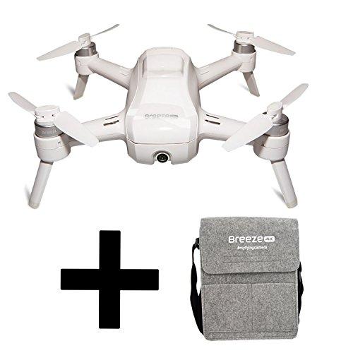 Preisvergleich Produktbild Yuneec Breeze kompakter Quadrocopter mit Premium 4K-UHD-Kamera + Tasche