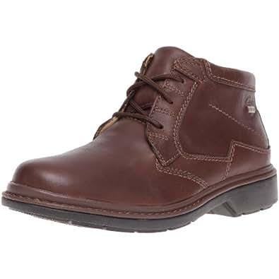 Clarks Rockie Hi GTX 20318603, Herren Stiefel, Braun (Ebony Leather), EU 42