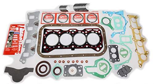 ENGINE REBUILD RERING RE-RING KIT G13BA 1 3L G13BA (1298cc SOHC) & G13A  (1324cc SOHC) 8 VALVE ENGINE - RING SET GASKET ENGINE BEARINGS SAMURAI  JIMNY