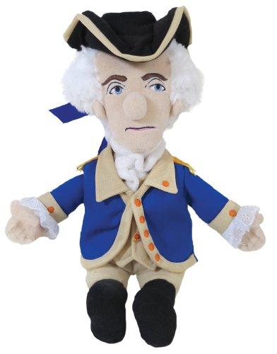 plush-little-thinker-george-washington-soft-doll-toys-gifts-new-3733