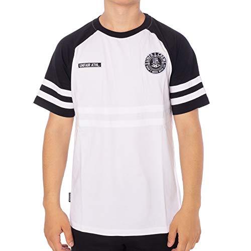 Athletic Fit-t-shirt (Unfair Athletics Herren T-Shirts DMWU weiß L)