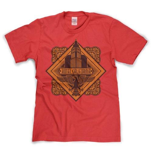 Hotel California Classic Rock Musik Legends Retro-T-Shirt Rot