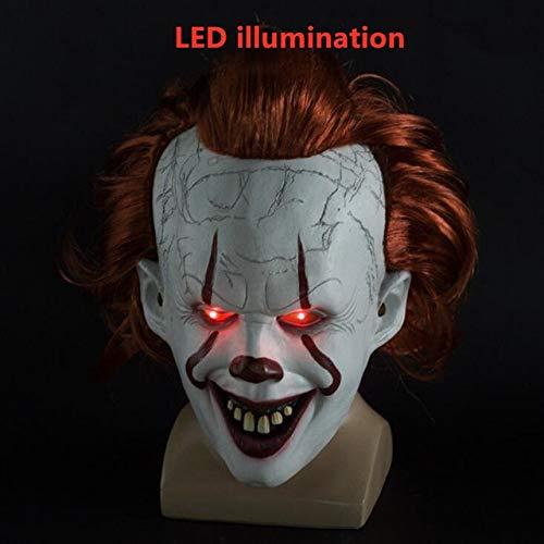 Latex Horror Maske - Stephen Kings Es Maske Pennywise Horror