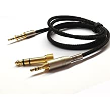 1.2M New Replacement Cable de audio de actualización para AKG K450K451K452K480Q460Auriculares