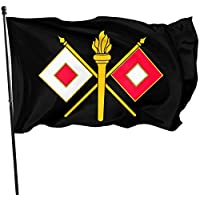 AGnight US Army Signal Corps Flags 3x5 Foot Polyester Banner 3x5 Ft