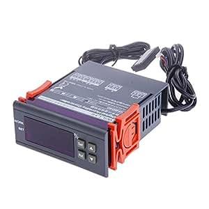 tinxi® Hygrostat numérique hygromètre contrôleur d'humidité régulateur d'humidité