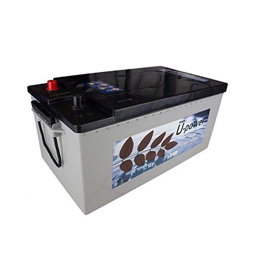 La batería solar U-Power AGM de 160AH C100 no requiere mantenimiento y está sellada. Se puede usar para dispositivos eléctricos y consumos medios.Está fabricada en recipiente de material ABS y dispone de bornes de plomo para poder conectarle terminal...