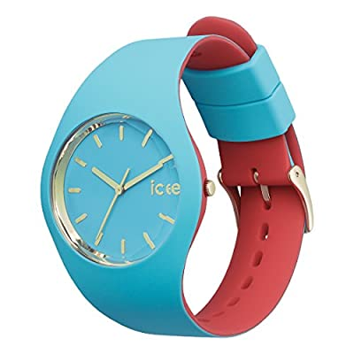 Ice-Watch - Ice Loulou Bahamas - Reloj Turquesa para Mujer con Correa de Silicone