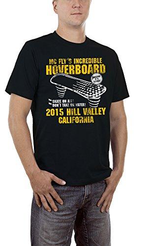 Hoverboard Herren T-Shirt Black, XL