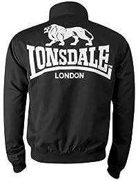 Lonsdale London Harrington slim fit pour homme Acton Noir