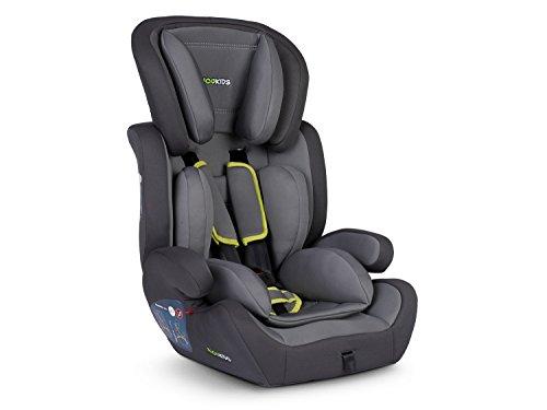 Kinderautositz Ricokids 9-36 kg für die 1-3 Gruppe Massi– grau