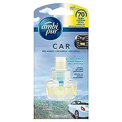 Idea Regalo - Ambi Pur Car Ricarica Deodorante per Auto con Clip Brezza Leggera