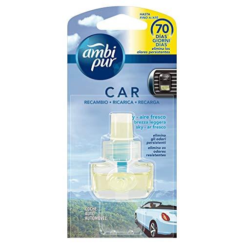 Ambi Pur Car Ricarica Deodorante per Auto con Clip Brezza L