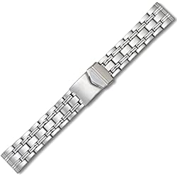 20 mm Eichmüller Double Press Double Insurance Deduction Watch Belt with Stainless Steel Bracelet M72