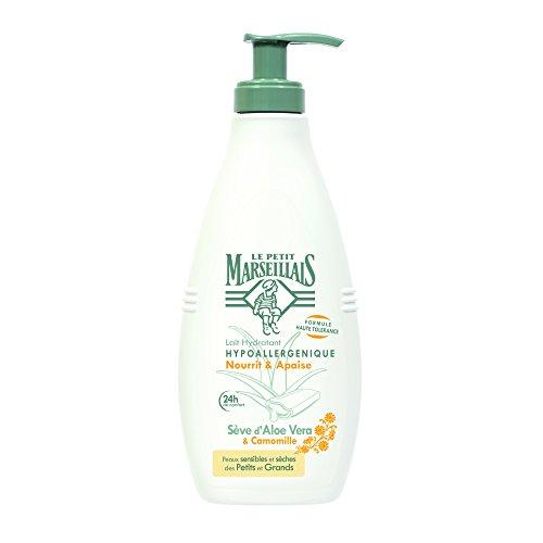 Le Petit Marseillais Lait Hydratant Hypoallergénique Aloe Camomille Pompe de 250 ml